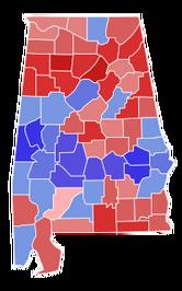 2017 Alabama Senate Results