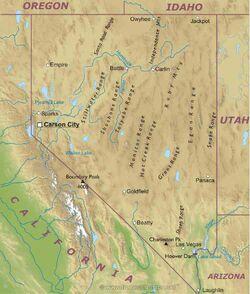 Nevada-map