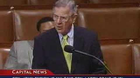 Rep. Pete Stark (D-CA) Outrageous Remarks on House Floor