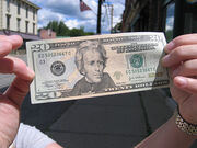 New Twenty Dollar bill