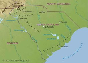 Southcarolina-map
