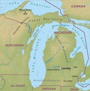 Michigan-map
