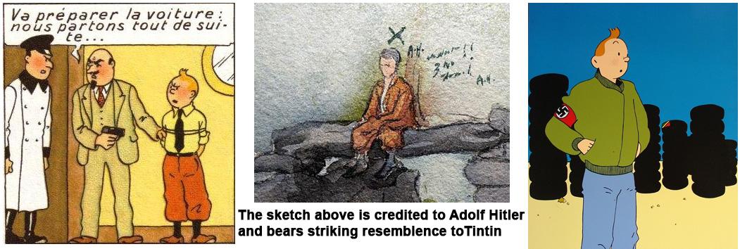 Tintint hitler swastika