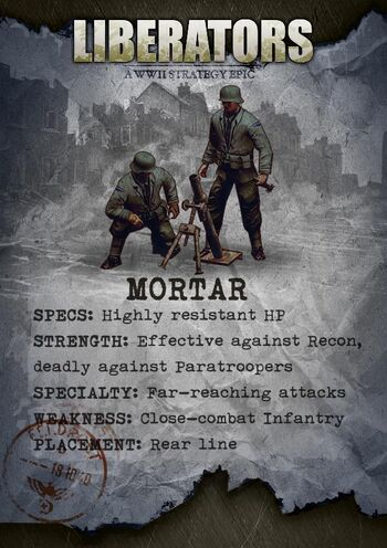 Liberators-Mortar