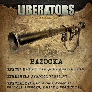 Liberators-Bazooka