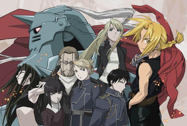 FMA-characters