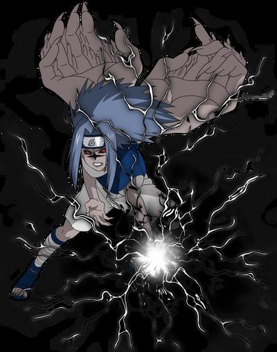 Sasuke cursed render