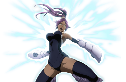 Anti-Hierro Armor Yoruichi