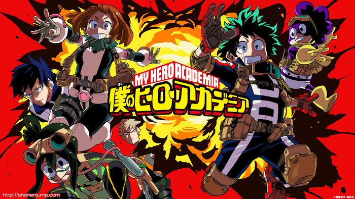 Boku no hero academia wallpaper hd anime by corphish2-d9fl0dr