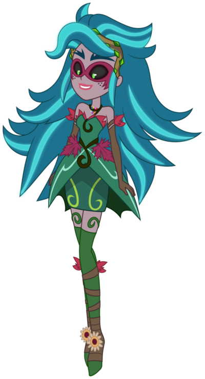 Vector gloriosa daisy as gaia everfree by dashiemlpfim-dajrc59