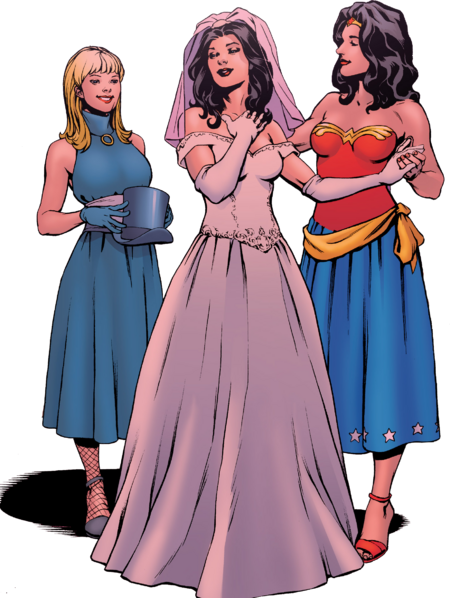 Zatanna noiva liberproeliis render
