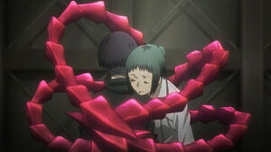 Mutsuki's kagune re anime