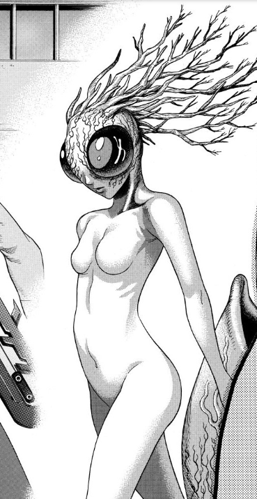 Female Hybrid Human (Insect)