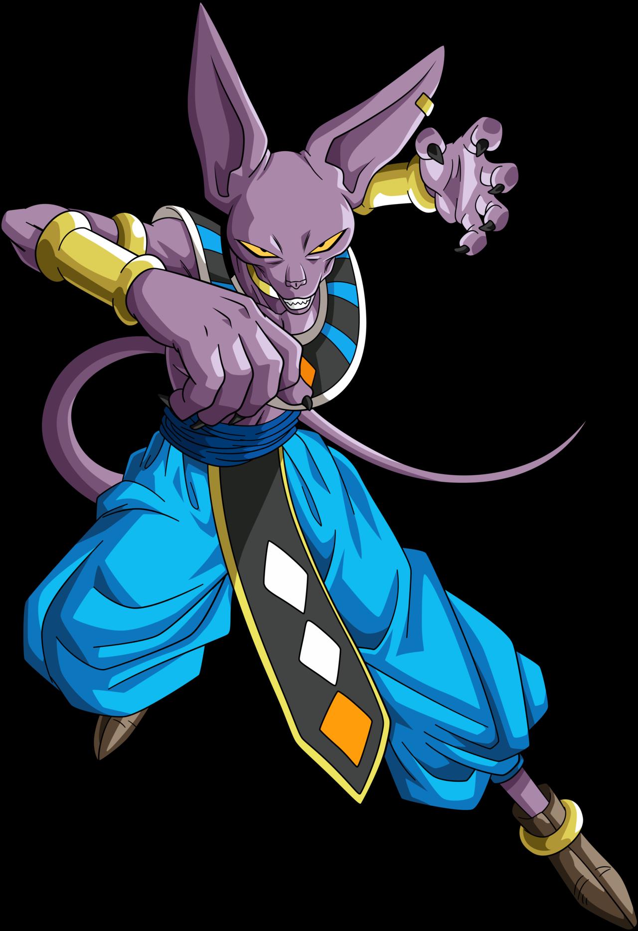 Hit Imagens Do Goku E Bills Transparent Png Download