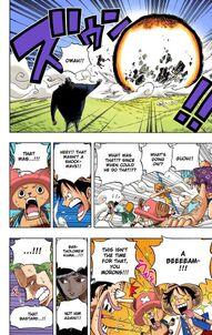 Luffy dodg2