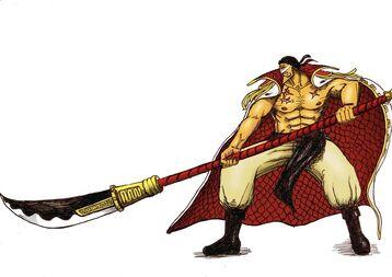 Whitebeard attack stance by kukriblades-d4pbbve