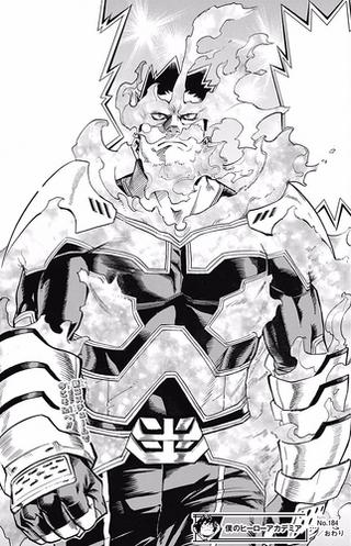 Endeavor 2nd Hero Costume