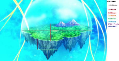 Reviewmon Island size