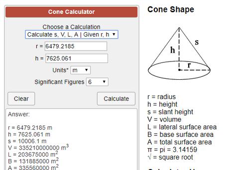 Cone Volume 4444444444444