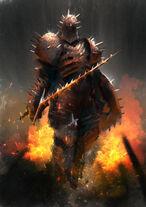 Kirk, Cavaleiro dos Espinhos