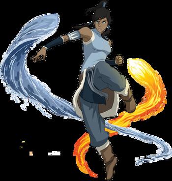 Tumblr static avatar korra render by supersleuth10-d596nug