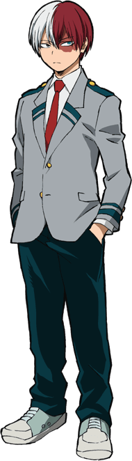 Shouto Todoroki Full Body Uniform
