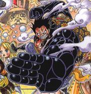Gear Fourth Manga Color Scheme