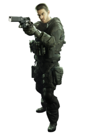 Resident Evil 7 Biohazard Chris Redfield merc render 01 alpha