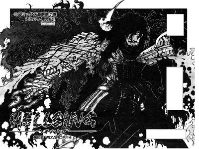 Hellsing Verdadeira Forma de Alucard Dracula