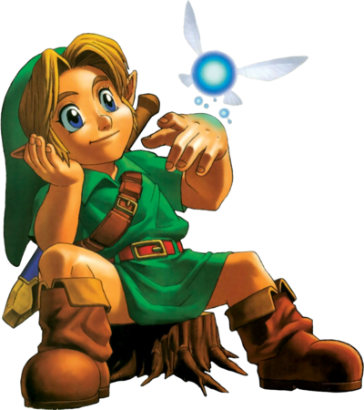 Young Link Artwork (Ocarina of Time)