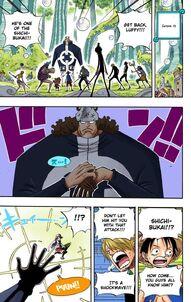 Luffy dodg1