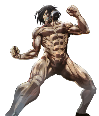Shingeki !1titan eren kakoii battle hd render by