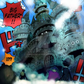 One piece chapter 868 kx launcher big father by amanomoon-dbc1910