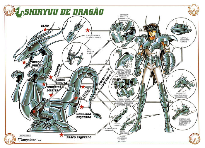 Armadura final SHiryu