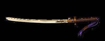 Katana Dourada