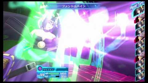 Digimon Story Cyber Sleuth - Lilithmon (special attack + victory pose)