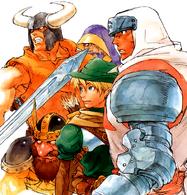 Os Heróis (King of Dragons)