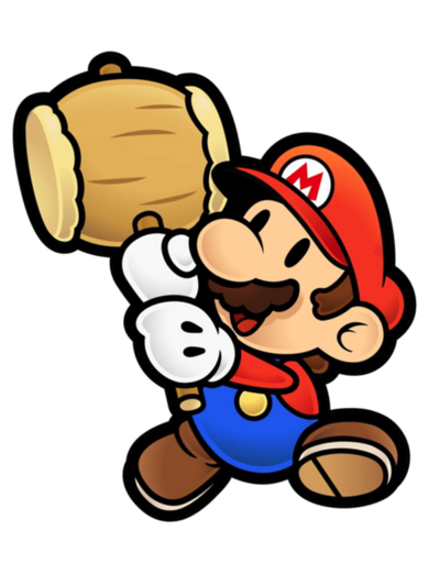 Paper Mario The Thousand-Year Door Render