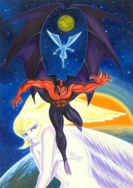Devilman and Satan