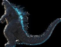 Godzilla 2019 official png render