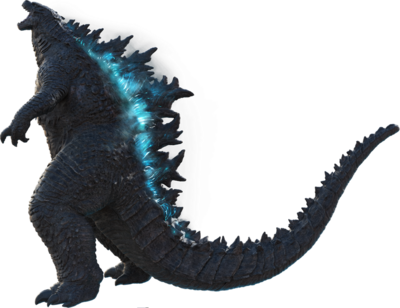 Godzilla 2019 official png render