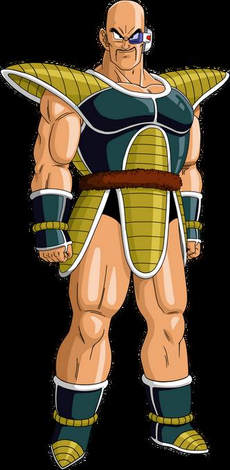 Render Dragon Ball Nappa