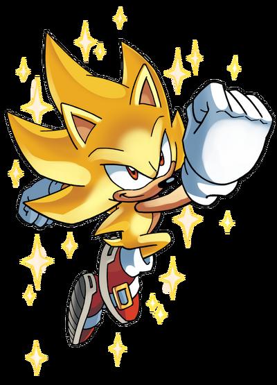 Archie Super Sonic render