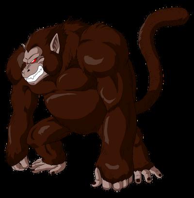 Goku oozaru render by luishatakeuchiha-d6ab1la
