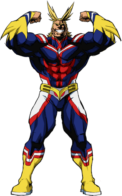 All Might render