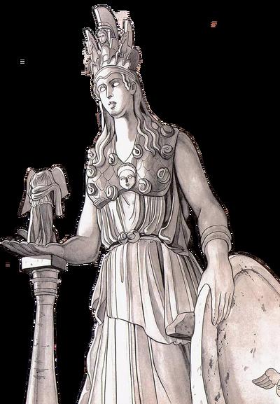 Athena Myth Age render by alonik