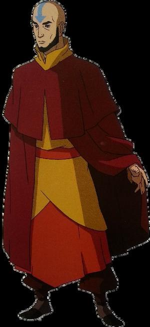 Adult Aang Render