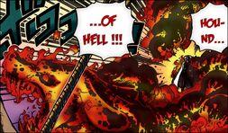 Akainu Hound of Hell