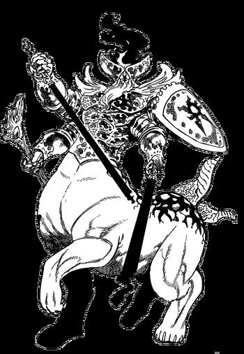 Demônio Original Render