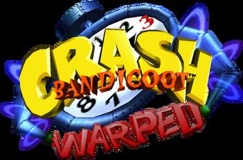 Crash Bandicoot 3 Warped Logo